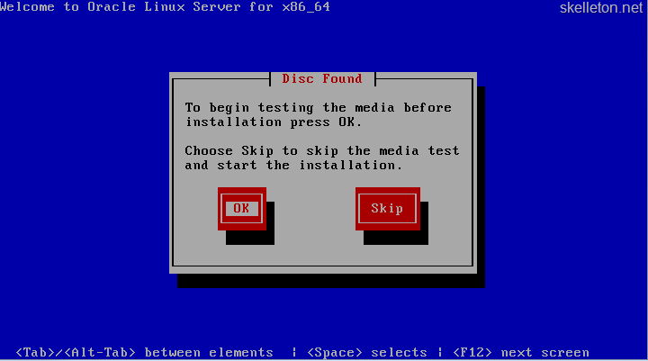 Installing Oracle Linux and Apex   skelleton net